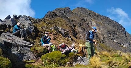 Hiking Around Otavalo